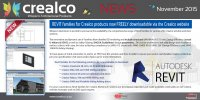 NEW! Revit families for Crealco products - now ava